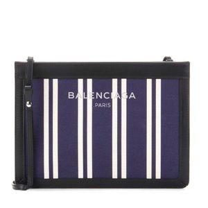 Balenciaga Navy Crossbody Bag
